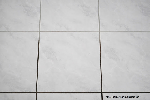 Grout line cleaning