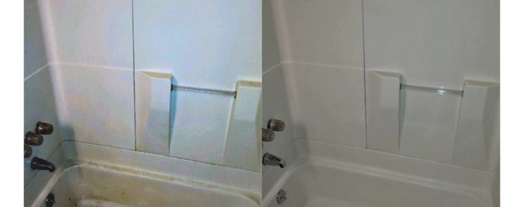 Bathroom Tub Liner cleaning - Paradigm Cleaning Solutions